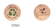 Tokens in stock - wood